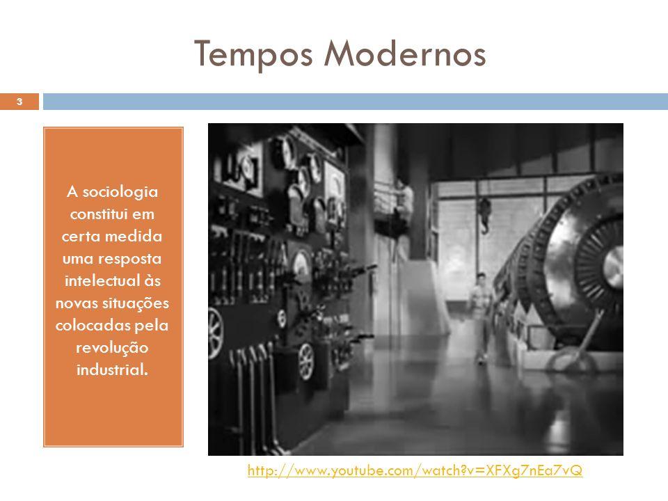 Boa parte de seus temas de análise e reflexão foi tirada das novas situações, como, por exemplo: A situação da classe trabalhadora; O surgimento da cidade industrial; As transformações tecnológicas; A organização do trabalho na fábrica e etc.