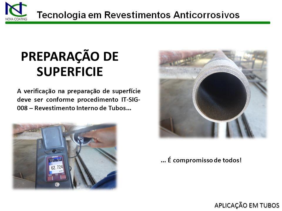 A preparação de superfície requer uma atenção especial por ser considerada uma etapa crítica no processo de revestimento anti corrosivo.