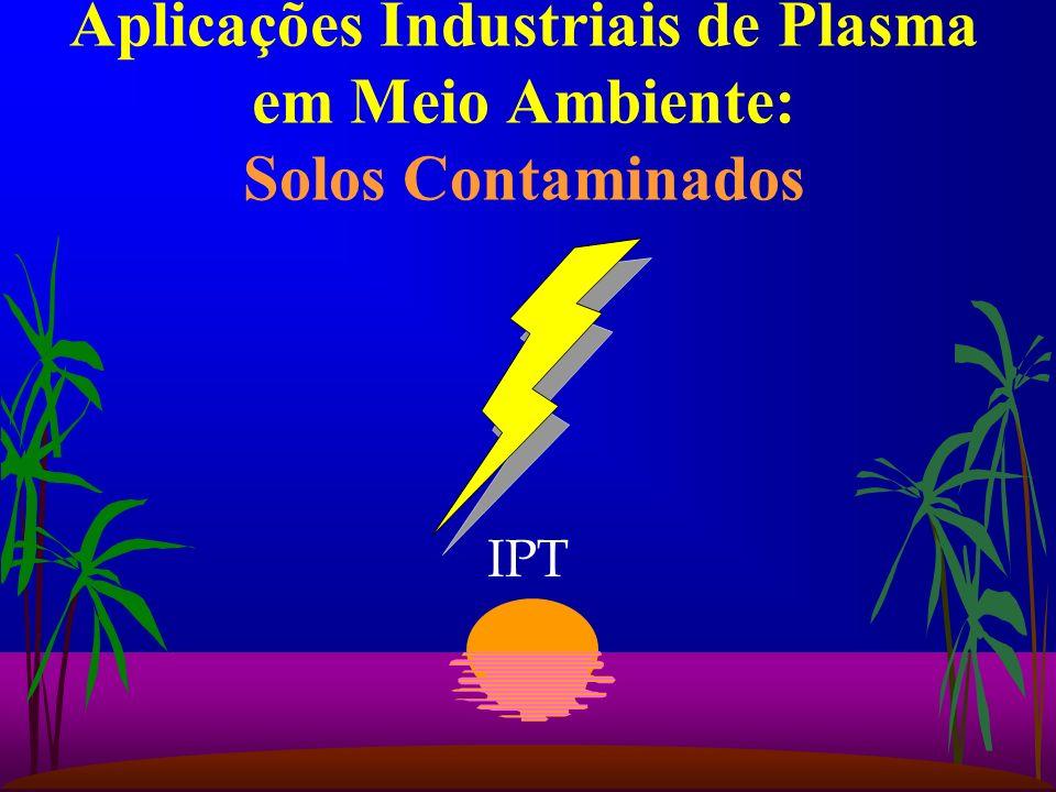 IPT Aplicações Industriais de Plasma em Meio Ambiente: Solos Contaminados