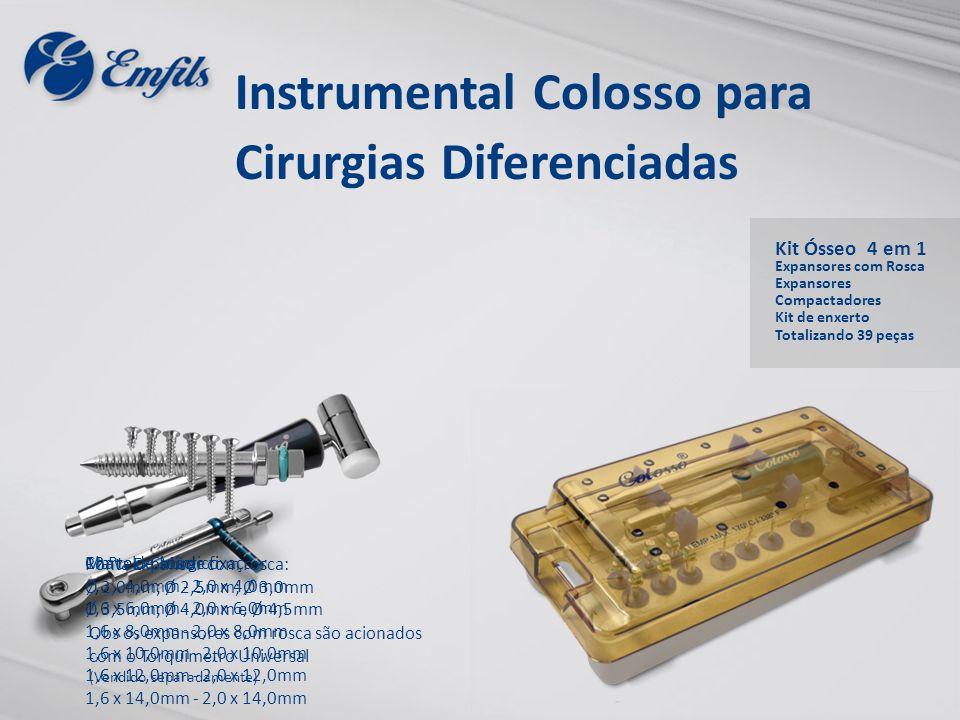 12 Parafusos de fixação: 1,6 x 4,0mm - 2,0 x 4,0mm 1,6 x 6,0mm - 2,0 x 6,0mm 1,6 x 8,0mm - 2,0 x 8,0mm 1,6 x 10,0mm - 2,0 x 10,0mm 1,6 x 12,0mm - 2,0