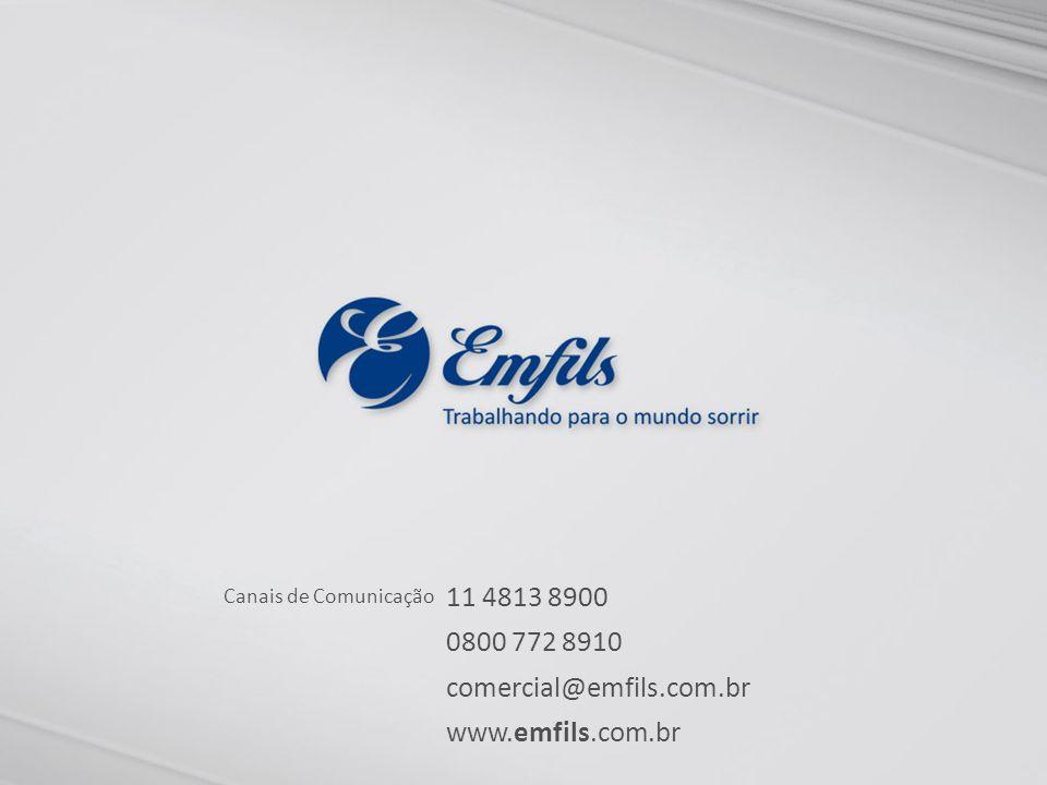 11 4813 8900 0800 772 8910 comercial@emfils.com.br www.emfils.com.br Canais de Comunicação