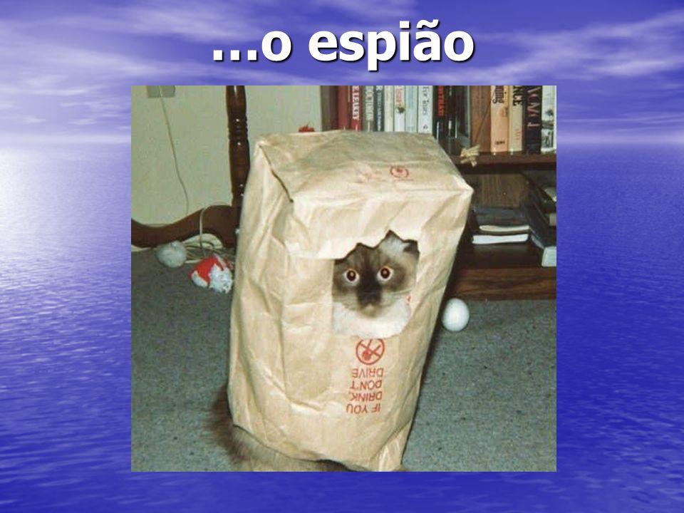 …o espião