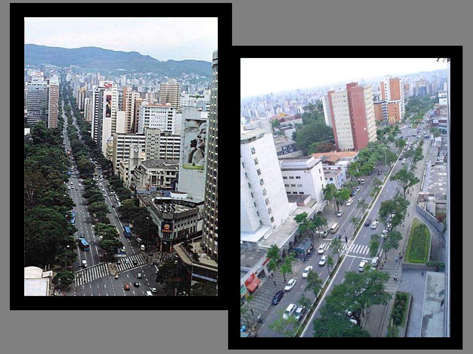 Grandes avenidas Prédios modernos