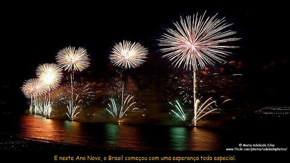 Isto só confirma que a festa de Ano Novo no Rio é sem dúvida o maior evento do gênero do mundo.