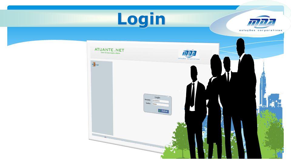 Seja um usuário de sucesso! Venha para a MDA. Login