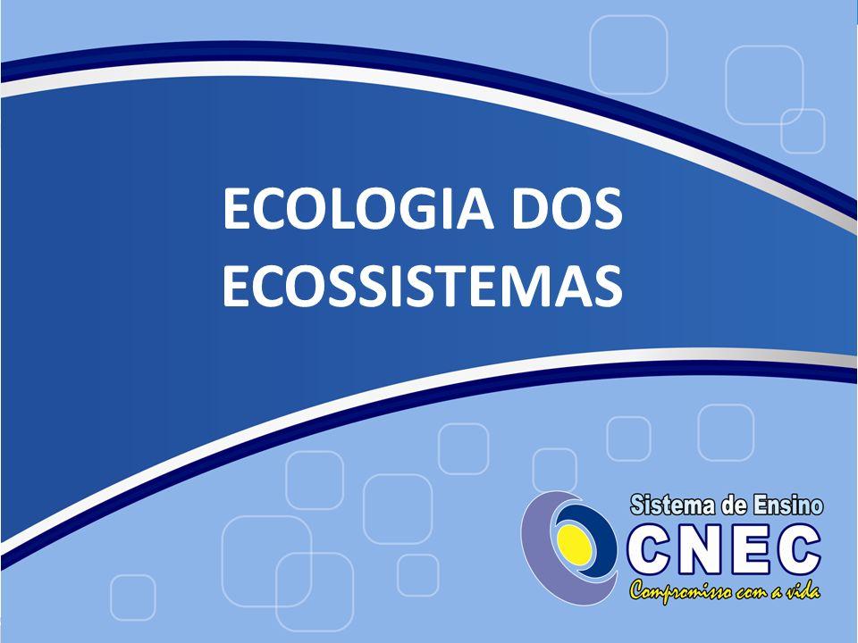 ECOLOGIA DOS ECOSSISTEMAS