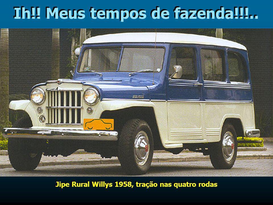 Oh! Ronaldinho num desses!!!… Esportivos da Willys nas versões fechada e conversível