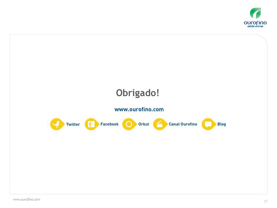 www.ourofino.com 11 Obrigado!