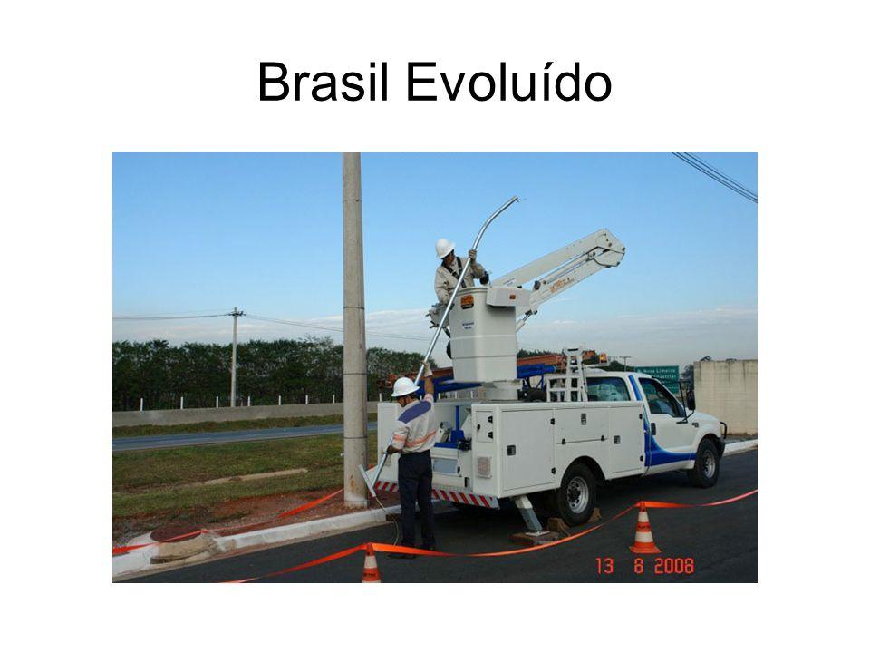 Brasil Atrasado x Brasil Evoluído Escada Menor Custo Inicial; Menor produtividade; Pior ergonomia; Menor segurança Dispositivo Hidráulico Maior custo Inicial; Maior produtividade; Longevidade eletricista; Maior segurança Estudos mostram que uma equipe com dispositivo hidráulico produz cerca de 30% mais do que equipe com escada