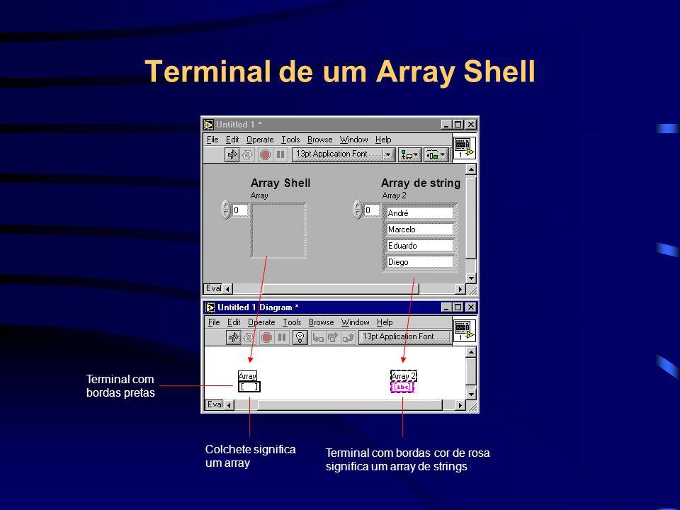 Split 1D Array Split 1D Array - Divide uma 1D array em duas sub - arrays, na posição determinada pelo INDEX.