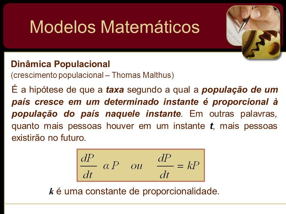 Modelos Matemáticos Decaimento Radioativo O núcleo de um átomo consiste em combinações de prótons e neutrons.