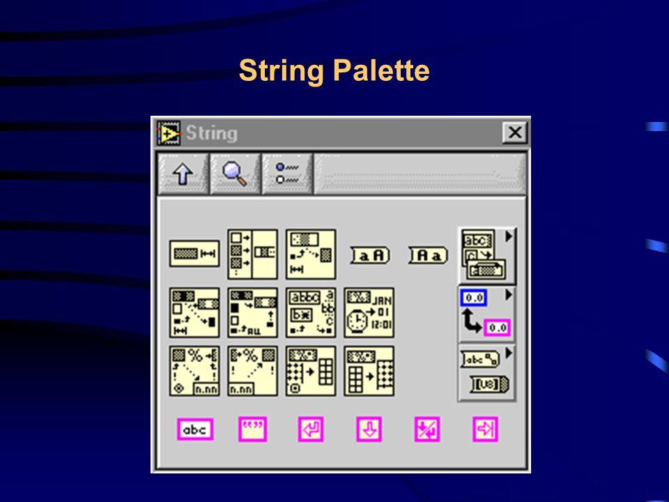Read Lines From File.vi Read Lines From File.vi - Lê um número espeçifico de linhas de um arquivo Byte Stream, começando de uma determinada sequência de caracteres.