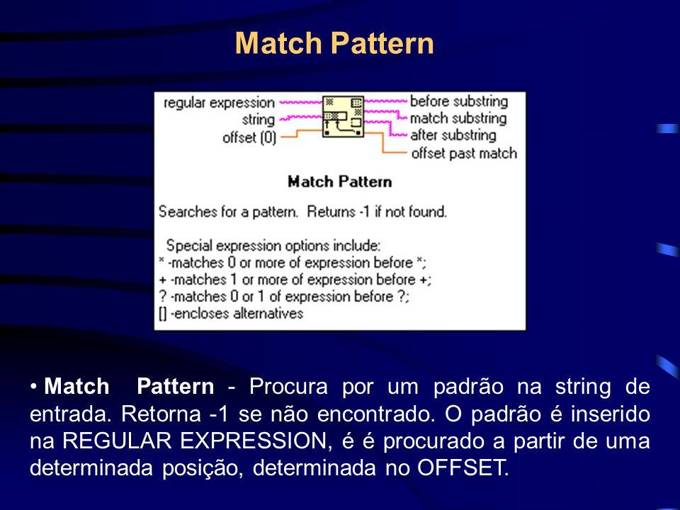 Pode-se salvar ou ler dados de arquivos em 3 diferentes formatos: 1 - ASCII Byte Stream : Este formato é utilizado por sua grande compatibilidade, permitindo que diversos programas possam ler este formato de arquivo.