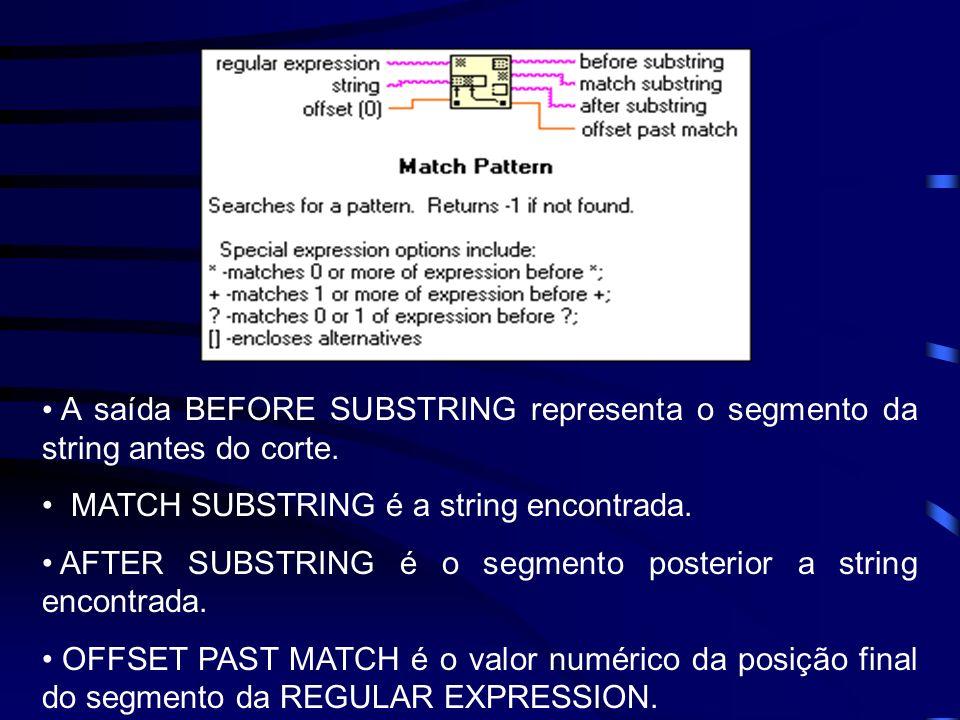 String Subset - Retorna um segmento da string de entrada.