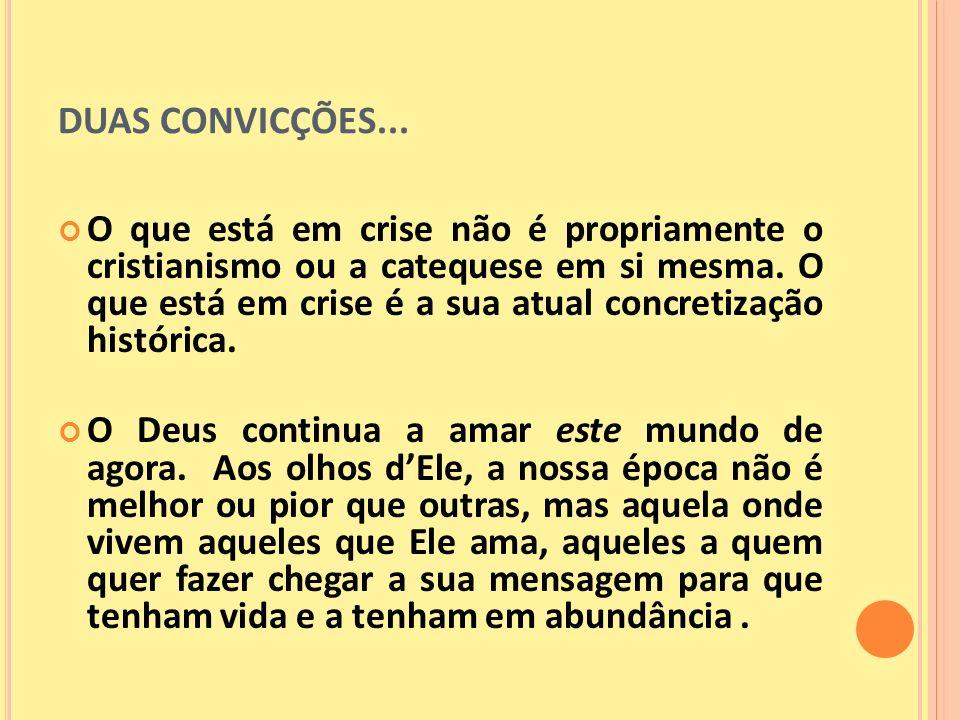 MAS, O QUE É MESMO INICIAÇÃO CRISTÃ.