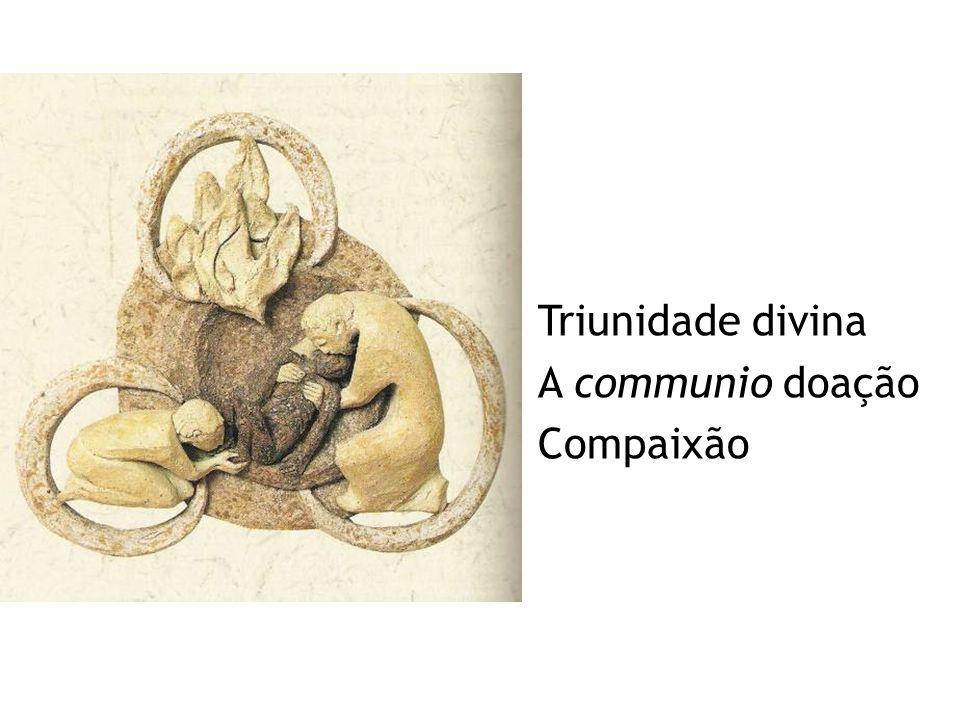Triunidade divina A communio doação Compaixão