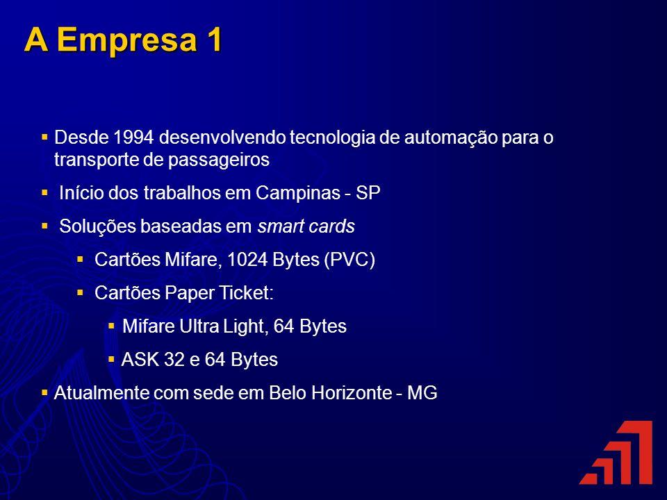 A Empresa 1 Desde 1994 desenvolvendo tecnologia de automação para o transporte de passageiros Início dos trabalhos em Campinas - SP Soluções baseadas