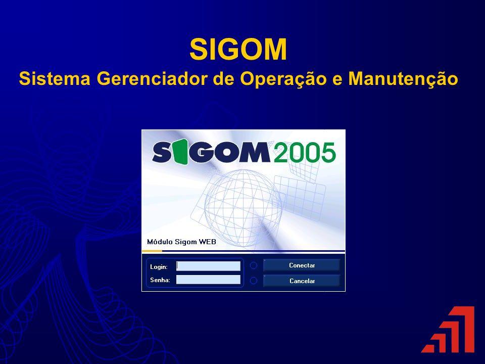 SIGOM Sistema Gerenciador de Operação e Manutenção