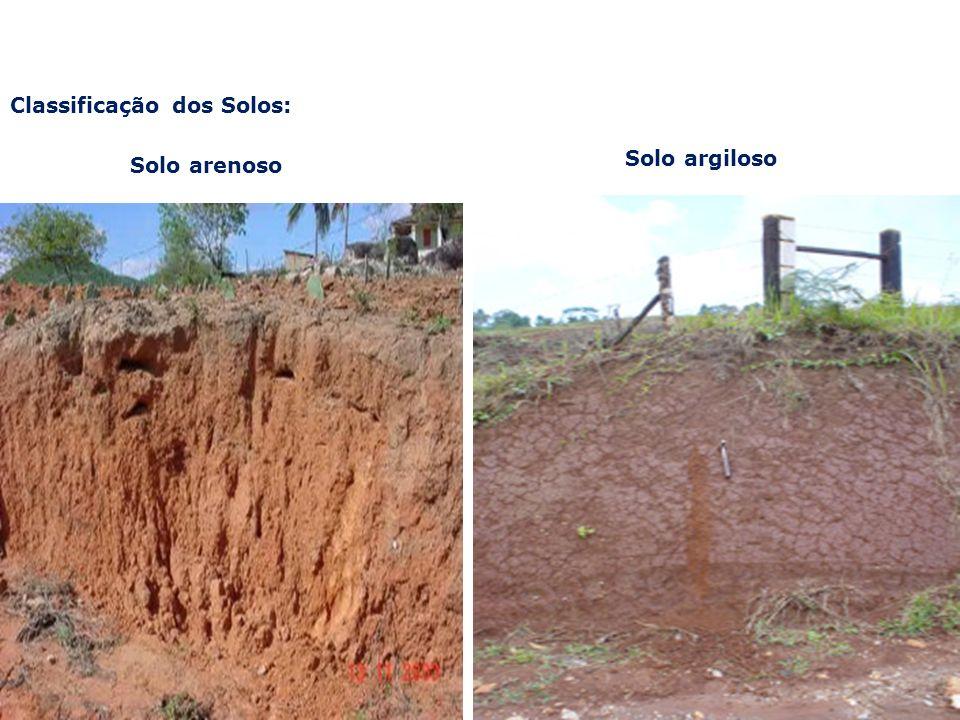 Classificação dos Solos: Porosidade e permeabilidade Argila versus areia: a diferença está no tamanho dos vazios