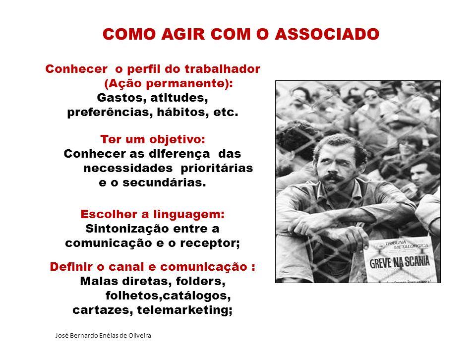 Conhecer o perfil do trabalhador (Ação permanente): Gastos, atitudes, preferências, hábitos, etc.