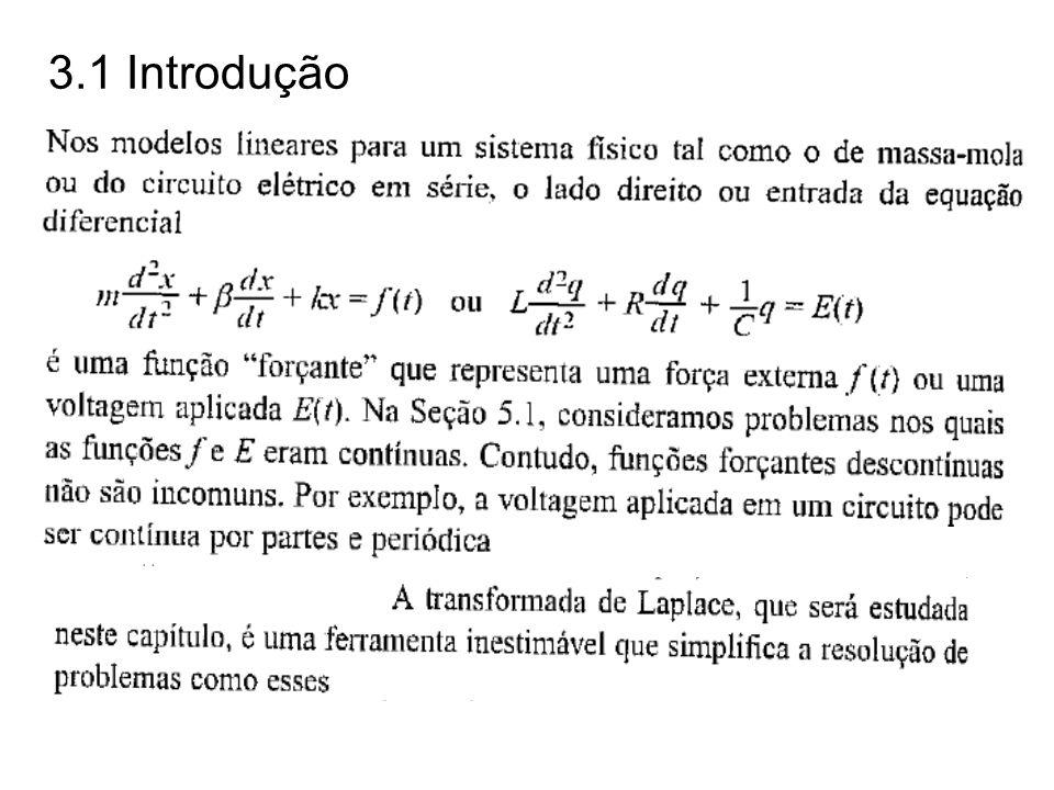 Teorema: (Existência da transformada de Laplace).