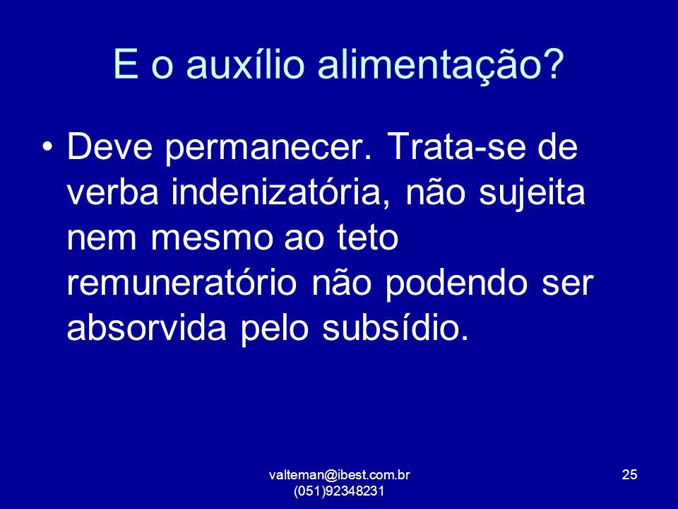 valteman@ibest.com.br (051)92348231 25 E o auxílio alimentação.