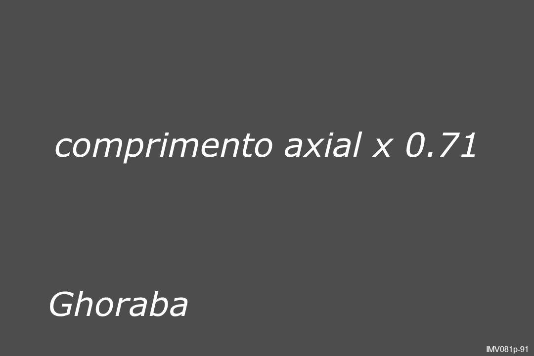 IMV081p-91 Ghoraba comprimento axial x 0.71