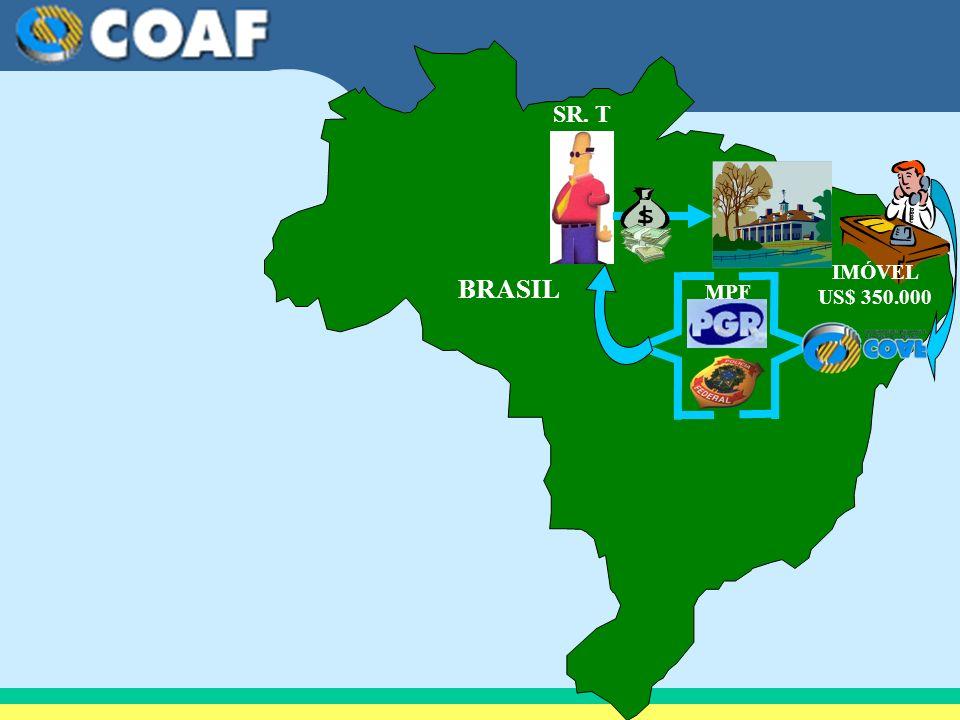 BRASIL SR. T IMÓVEL US$ 350.000 MPF