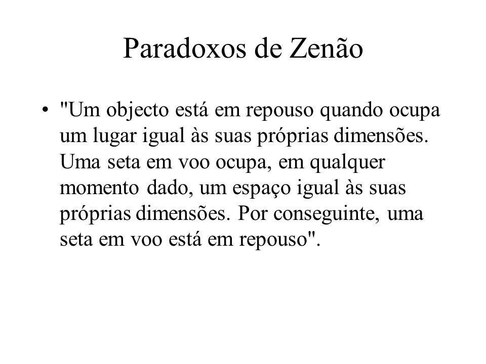 Paradoxos de Zenão