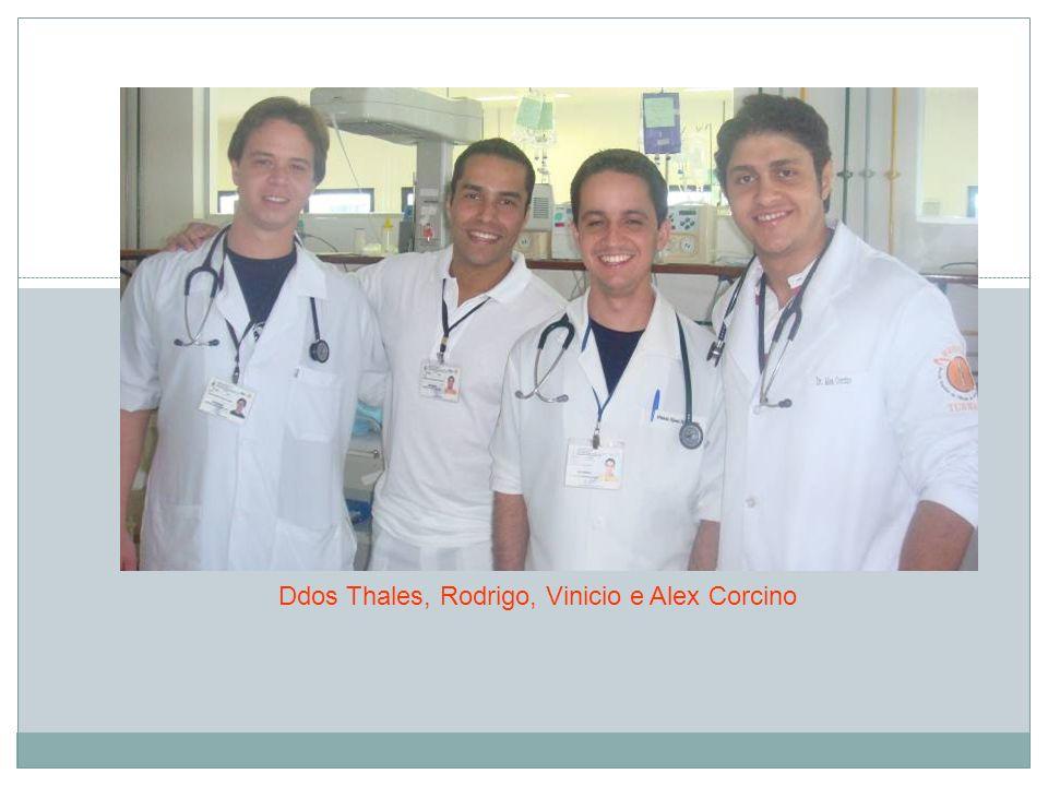 Ddos Thales, Rodrigo, Vinicio e Alex Corcino