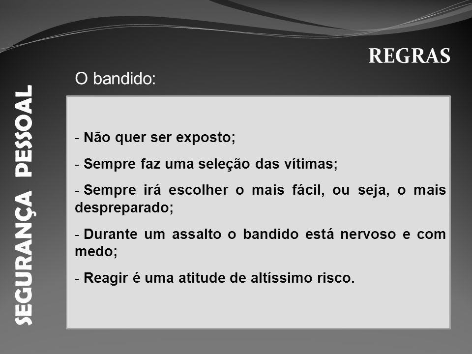 SEGURANÇA PESSOAL INSTRUÇÕES