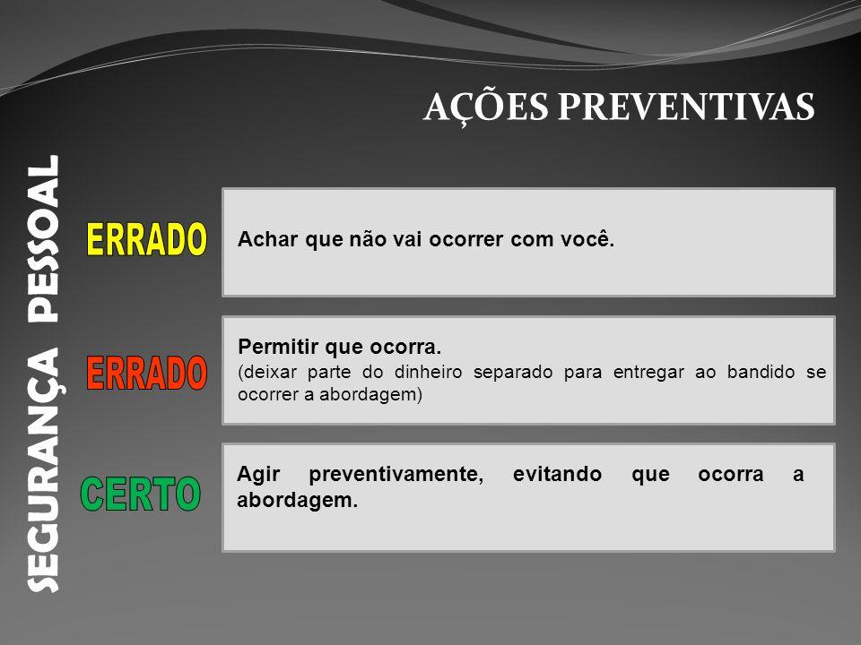 SEGURANÇA PESSOAL ABORDAGEM NO CARRO