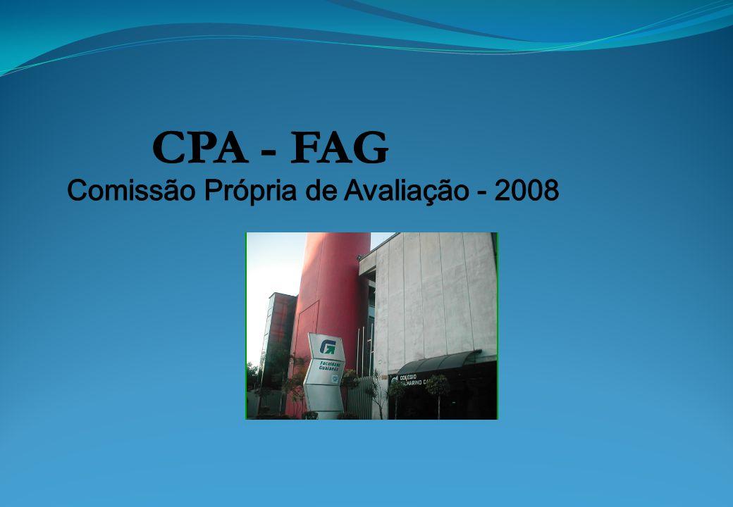 1ª: Preparação (até 31/março/2005) Constituição da CPA; Planejamento: definição de objetivos, estratégias, metodologia, recursos e calendários das ações avaliativas Elaboração do projeto de auto-avaliação; Sensibilização: reuniões, palestras, seminários, etc.