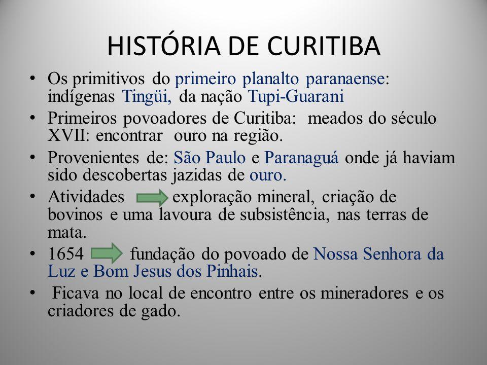 FUNDAÇÃO A data oficial da fundação de Curitiba é 29 de março de 1693 Fundada por Matheus de Leme em razão dos apelos de paz, quietação e bem comum ,