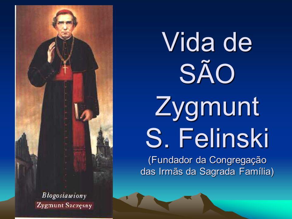 Quando D.Zygmunt adoeceu, recebeu a bênção apostólica para a hora da morte do Papa Leão XIII.
