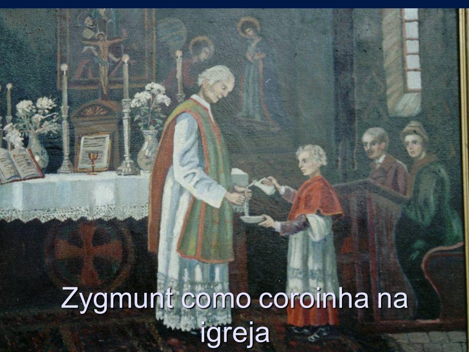 1835 –Zygmunt fez um voto de fidelidade a Deus perante a imagemede N.