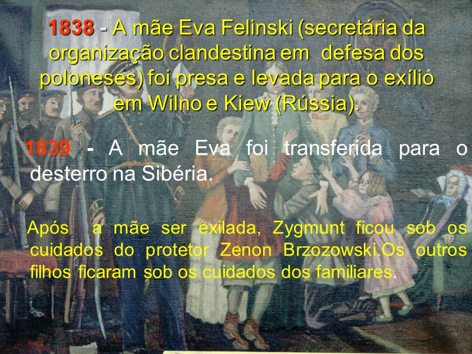 1895 O Fundador nomeia a M. Sofia Koncza como Superiora Geral da Congregação