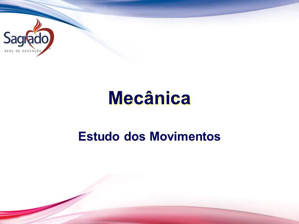Mecânica Estudo dos Movimentos