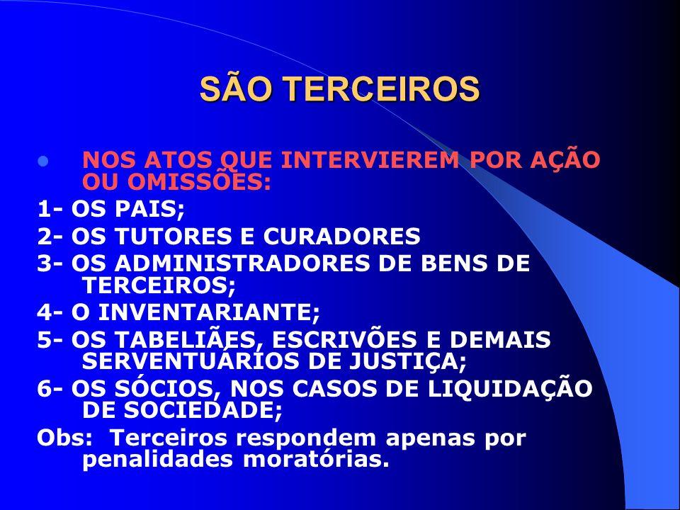 RESPONSABILIDADE PELA RETENÇÃO NA FONTE E RECOLHIMENTO REGIME DE TRIBUTAÇÃO DEFINITIVA OU EXCLUSIVA: A) TRIBUTOS NÃO RETIDO: 1- RESPONSABILIDADE DA FONTE PAGADORA 2- TRIBUTOS RETIDOS E NÃO RECOLHIDOS APROPRIAÇÃO INDÉBITA.