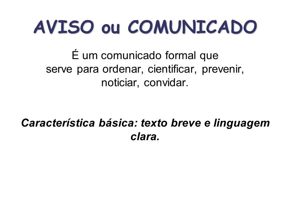 Documentos utilizados pelos órgãos da saúde Ofício; Memorando; Correspondência; Fax.