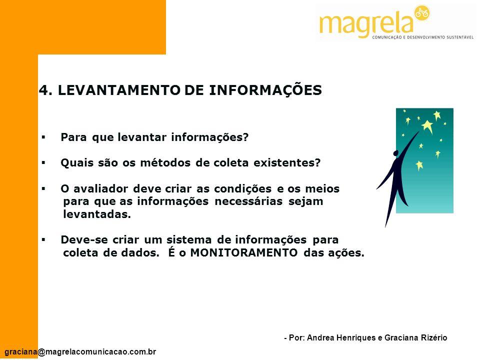 - Por: Andrea Henriques e Graciana Rizério graciana@magrelacomunicacao.com.br 3.1.