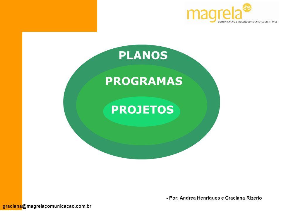 - Por: Andrea Henriques e Graciana Rizério graciana@magrelacomunicacao.com.br Projetos surgem em resposta a problemas concretos.