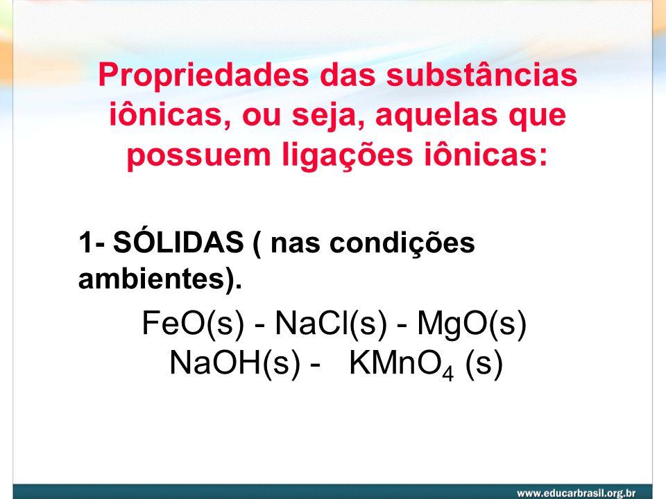 Íons de NaCl e KCl