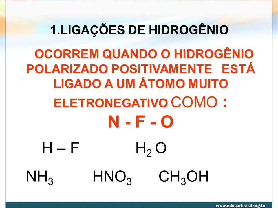 Substâncias moleculares não são boas condutoras de eletricidade, exceto ácidos em solução aquosa.