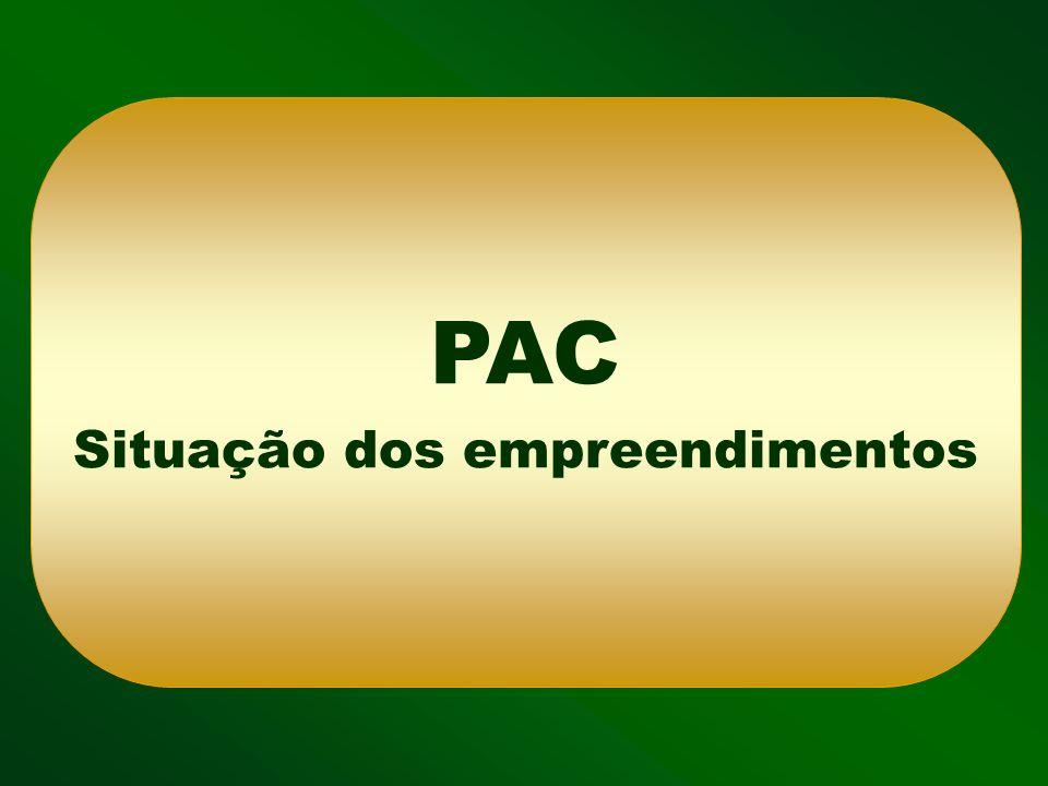 BR-163/PA BR-319/AM BR-364/AC PONTE BR-156/AP BR-230/PA Manaus Belém Porto Velho Rio Branco Macapá Boa Vista BR-429/RO BR-317/AM Rodovias - Região Norte BR-230/PA - Ponte BR-242/TO BR-364/RO Obra em execução Licitação Obra concluída Ação Preparatória Palmas