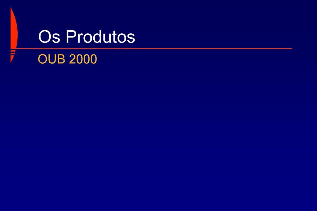 Os Produtos OUB 2000