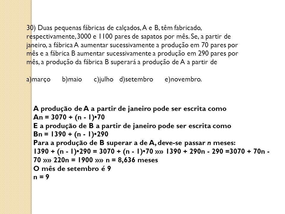 37) Um trabalho escolar de 150 páginas deverá ser impresso em uma impressora que apresenta os seguintes problemas: nas páginas 6, 12, 18,...