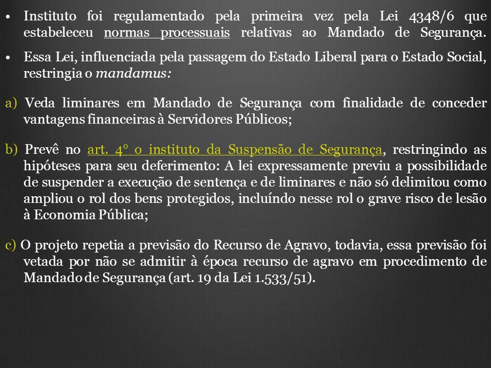 4.1) A Extensão do Incidente na legislação brasileira: Lei da Ação Popular (art.