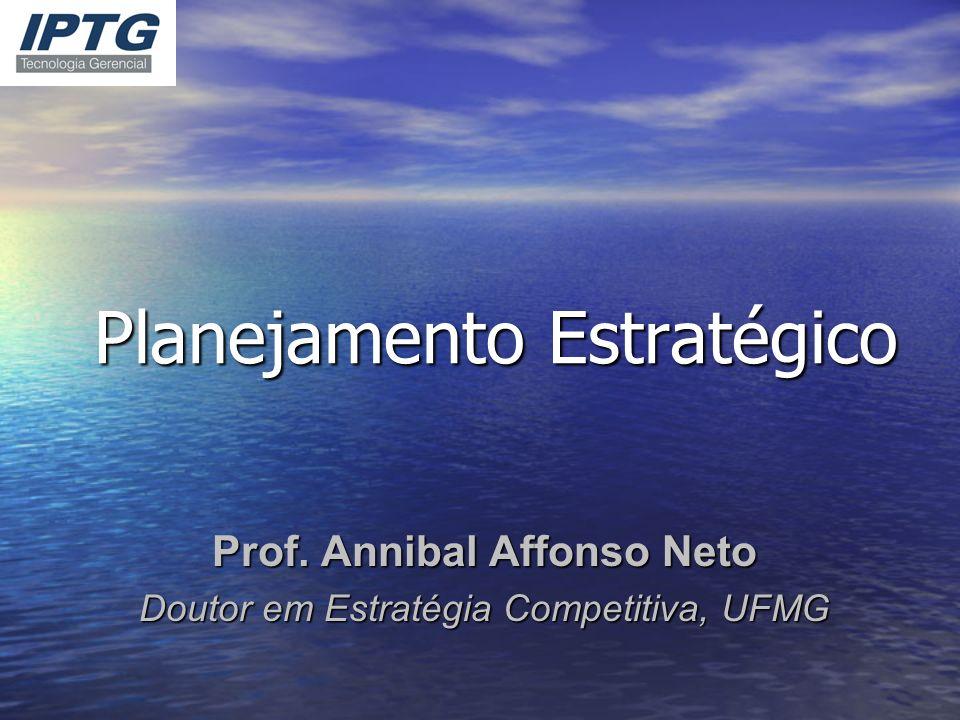 Planejamento Estratégico Prof. Annibal Affonso Neto Doutor em Estratégia Competitiva, UFMG