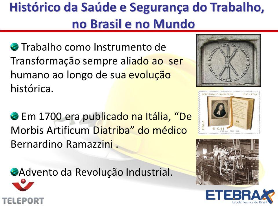 A Legislação Prevencionista no Brasil Também em 1944, através do Decreto Lei n.